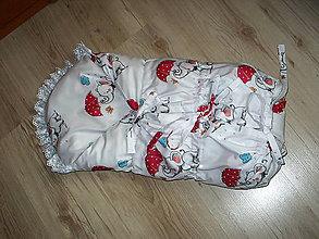 Textil - zavinovačka -perinka - 11002463_