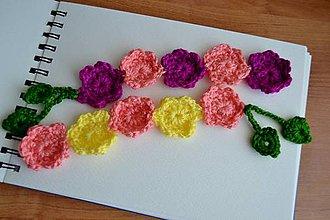 Iné doplnky - Kvety do knihy - 11003214_