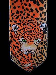 Doplnky - Kravata hedvábná Gepard - 11002186_