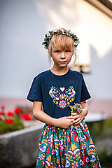 Detské oblečenie - Detské tričko tmavé - 11001508_
