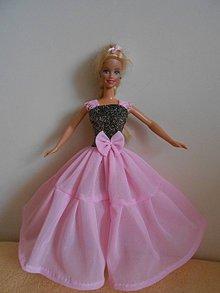 Hračky - Šaty pre barbie - 11003080_