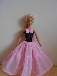 Hračky - Šaty pre barbie - 11003148_