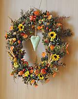 Dekorácie - Jesenný veniec - 11002173_