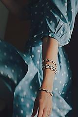 Náramky - Náramok z kauri mušlí - 11002822_