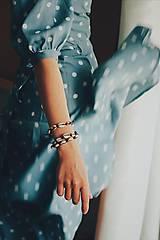 Náramky - Náramok z kauri mušlí - 11002823_