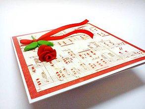 Papiernictvo - Pohľadnica ... pieseň - 11005153_