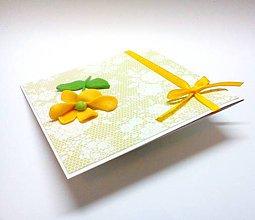 Papiernictvo - Pohľadnica ... rozkvitnutá - 11005186_