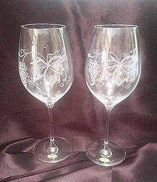 Nádoby - Vínové poháre - 11003936_