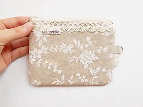 Peňaženky - Peňaženka/dokladovka - Romantická duša - 11004069_