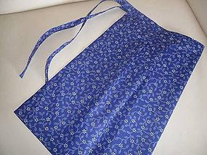 Iné oblečenie - Zásterka z modrotlače - 11003731_