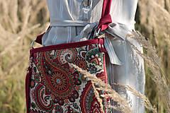 Kabelky - Veľká_kožená_tapiseri_ZĽAVA - 11004619_