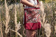 Kabelky - Veľká_kožená_tapiseri_ZĽAVA - 11004620_