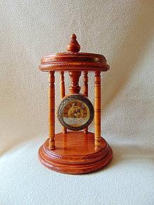 Hodiny - Vyrezávané drevené hodiny - 11003770_