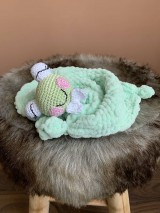 Hračky - mojkáčik - žabka Kvakuľka - 11004181_