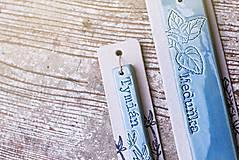 Dekorácie - Zápich velký rozmarín - 11004711_