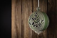 Dekorácie - Aroma difuzér velký olivový - 11005519_