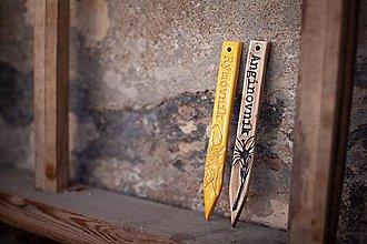 Dekorácie - Zápich malý angínovník - 11004771_