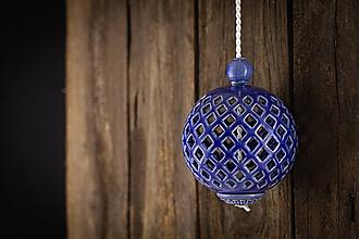 Dekorácie - Aroma difuzér malý královská modř - 11005605_