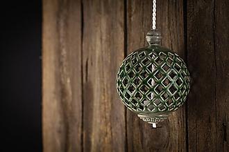 Dekorácie - Aroma difuzér malý olivový - 11005617_