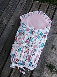 Textil - zavinovačka pre dievčatko - 11003845_