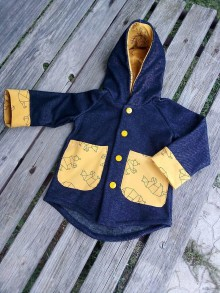 Detské oblečenie - Prechodný kabátik č 86 - 11003930_
