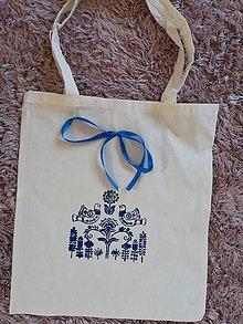 Iné tašky - Folklórna maľovaná eko taška - 11003631_