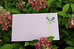 Šatky - Šedo-ružová hodvábna... - 11005376_
