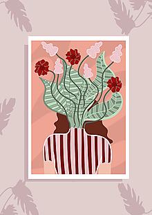 Grafika - Flower Head - 11003673_