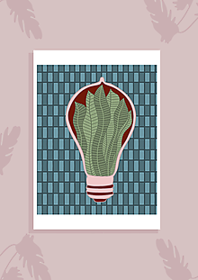 Grafika - Svetlo z rastlín - 11003760_
