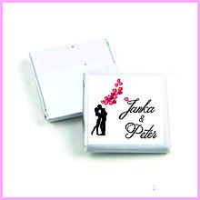 Darčeky pre svadobčanov - Svadobná čokoládka 1 - 11003485_