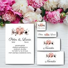 Darčeky pre svadobčanov - Kompletná svadobná sada 1 - 11003492_