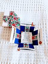 Krabičky - Folklórna darčeková krabička na peniaze - 11004232_