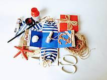 Drobnosti - Námornícka krabička na peniaze pre mladomanželov - 11004370_