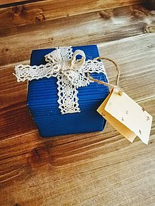 Krabičky - Darčeková krabička na peniaze pre mladomanželov - 11004415_
