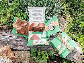 Krabičky - Darčeková krabička na peniaze k narodeninám - 11004457_
