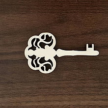 Polotovary - Výrez kľúčik univerzal - 11005296_