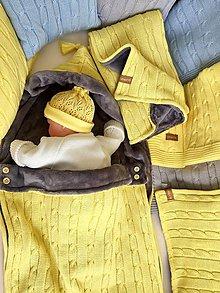 "Textil - Fusak,teplá deka,tenká deka a vankúšik, ""Vrkoč"", OEKO-TEX® - rôzne farby (Hnedá) - 11008750_"