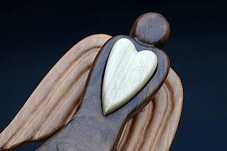 Dekorácie - Anjel so srdcom (Anjel so srdcom IV.) - 11006674_