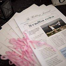 Darčeky pre svadobčanov - Svadobné noviny - 11007690_