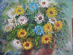 Obrazy - V kvetináči - 11007725_