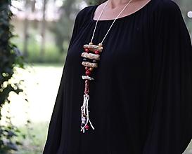 """Náhrdelníky - náhrdelník """"korálikový"""" - 11007950_"""