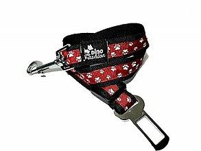 Pre zvieratká - Pás pre psa do auta psie labky - 11006375_