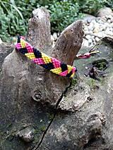 Pletený náramok 31