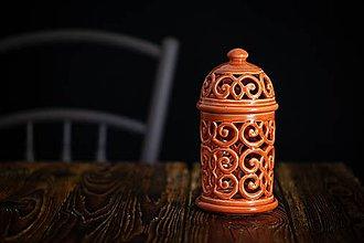 Svietidlá a sviečky - Aromalampa korálová - 11005921_
