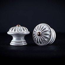 Nábytok - Úchytka - knopka rustik střední - vzor KOPRETINA - 11007049_
