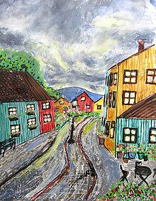 Kresby - Pokojná ulica - 11006144_