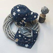 Detské čiapky - Set čiapočka  so šiltom+šatka - 11006353_