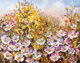 Obrazy - Romantické zákutie - 11008547_