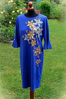 Šaty - Maľba na šaty... - 11007337_