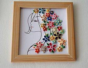 Obrázky - kvety vo vlasoch - obrázok - 11007940_